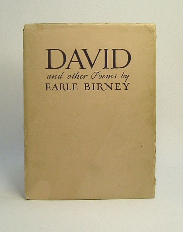 david earle birney Alfred earle birney, poet (b at calgary 13 may 1904 d at toronto, ont 3 sept 1995) beginning with david and other poems (1942), birney's poetry consistently explored the resources of language with.