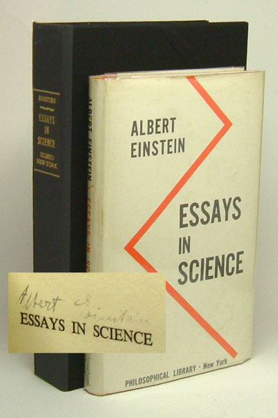 essays in physics by albert einstein