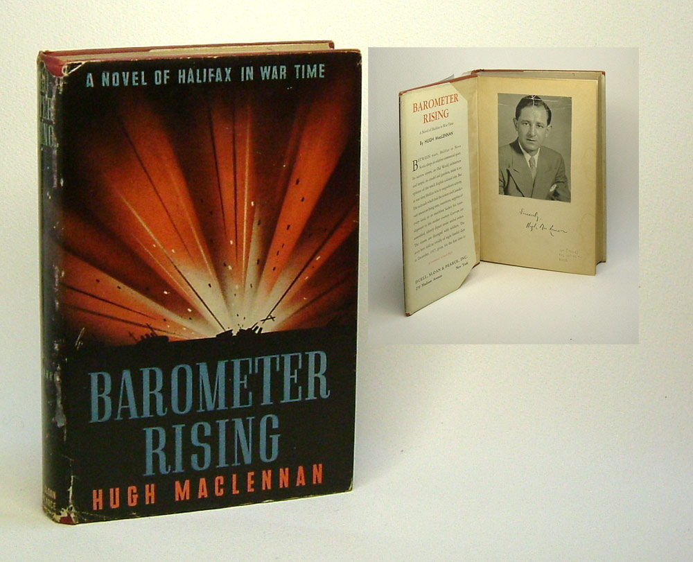 barometer rising Barometer rising is a romantic-realist novel by canadian author hugh maclennan the work explores life in halifax, nova scotia during world war i.