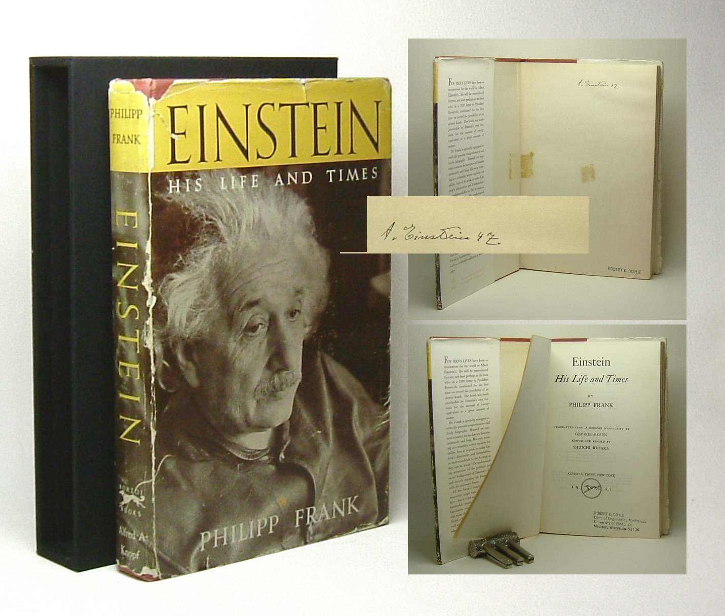 albert einstein essays in science 1934 A copy of essays in science by albert einstein this book is presented with a black dust jacket with white and yellow lettering to the front and spine with a sketch of albert einstein to the.